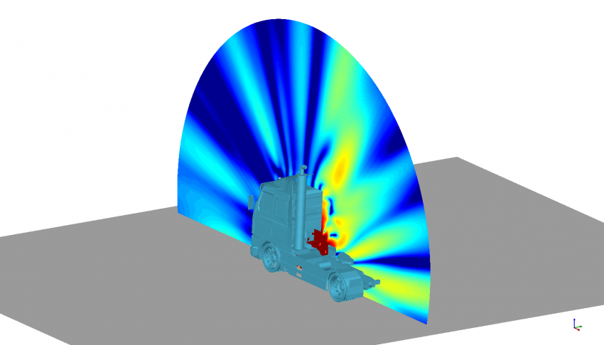 Acoustic Simulation for Automotive  and Heavy Equipment Industries